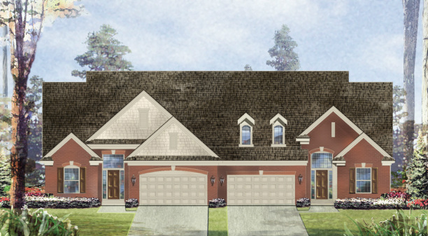 Sanctuary in the Hills Condominiums Elevation Illustration